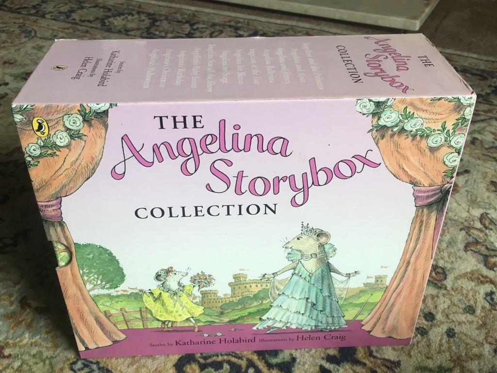 Angelina Ballerina storybox book collection
