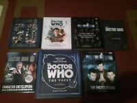 doctor who book collection