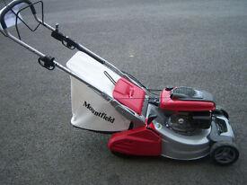"EX DEMO SP555R V roller mower, honda engine, 21"" cut, galvanised deck, top of the range, 30%off rrp"