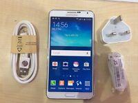 SAMSUNG NOTE 3 WHITE / UNLOCKED / 32 GB / VISIT MY SHOP/ .NEW COND. /1 YEAR WARRANTY + RECEIPT