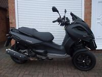 Gilera Fuoco 500ie - Satin Black 3 wheeler auto