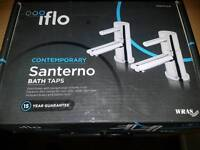 Iflo santerno bath taps (NEW)
