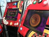 Digital touch multi game machine,poker roulett.e