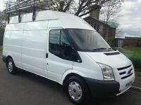 2009/59 FORD TRANSIT 2.4 LWB HIGH ROOF T350L RWD 110V PTO CONVERTER 3.5 KW **NO VAT ** RACKED OUT