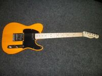 SQUIER AFFINITY TELECASTER BSB ( 2018 MODEL ) SALE OR SWAP )