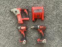 Milwaukee M18 tool set!