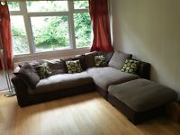 DFS corner large corner sofa
