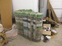 loft insulation 100mm Knauf Eco - 7 rolls - surplus to requirements