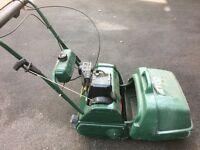 "Atco Balmoral 14"" Petrol Lawnmower."