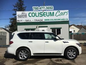 2013 Infiniti QX56 AWD, 7 PASSENGER, LOADED, 60KM