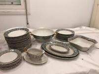 Large collection of China dinnerware