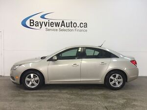 2014 Chevrolet CRUZE LT- TURBO! LEATHER! REVERSE CAM! MY LINK!