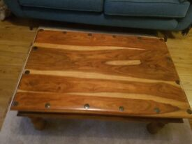 Beautiful Jali solid coffee table