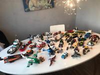 Massive Lego Set collection Jurassic World Marvel DC City & mini-figures