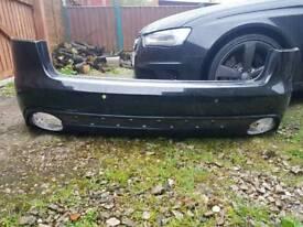 audi rs4 b8 rear bumper