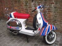 Ron Daley Special Vespa PX 125 - Mint Condition, Garaged & Very Low Mileage