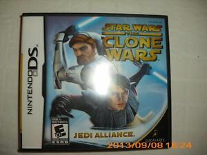 """STAR WARS THE CLONE WARS JEDI ALLIANCE"" NINTENDO DS GAME"