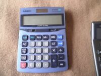 Casio Calculators – Various Function including Multi Currency
