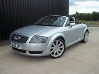 2003 (53) Audi TT 1.8 T 225 Roadster Quattro 2dr Low Mileage May Px