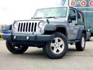 2014 Jeep Wrangler 2 dr Sport * 2 Toits* A/c* 4x4* Cruise*