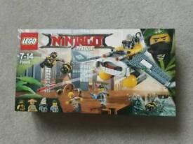 Ninjago Movie Manta Ray Bomber Lego Set