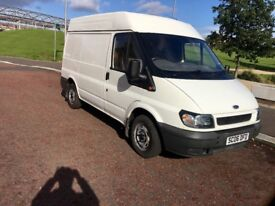 Ford transit swb 2006 2.0l low mailge mot 11 months 1 keepers full service van clean
