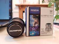 Olympus 45mm f.1.8 MFT Lens + Hoya Filter
