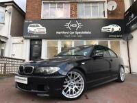 2004 BMW E46 320CD M SPORT 320D COUPE BLACK 2 DOOR MANUAL - LOVELY EXAMPLE NOT 330CD 330D