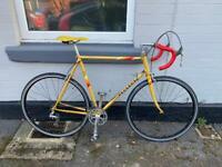 Vintage Peugeot Road Racing Bike