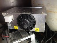 GAH Refrigeration chiller system complete x 2 removed from 2014 mercedes srprinter