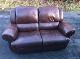 Leather recliner sofa * free furniture delivery*