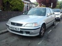 2000 (W) Honda Civic 1.6 Automatic VTEC SE, New MOT only 46,000 Miles! Bargain price £695