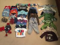 Boys 6-12 Mths clothes excellent condition