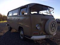 VW Early bay window camper Type 2