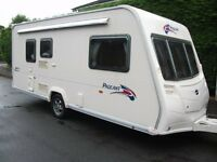 STUNNING BAILEY PAGEANT MONARCH 2 BERTH,2007 CARAVAN WITH AWNING