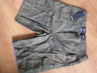 N3...MENS QUALITY DESIGNER SHORTS BY FIRETRAP SIZE M ..NEW