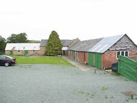 Five Bedroom House plus Barns with Planning Permission, plus Paddock