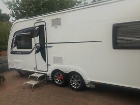 Coachman Laser 650, 2016 model, 4 berth with Sky dome, motor movers, air conditioning, USB point
