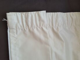 Cream Dunlem blackout curtains - in Very good condition