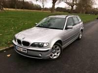2002/02 REG BMW 325I SE AUTOMATIC ESTATE LEATHERS **£1795.00 **