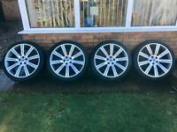 "Range Rover 22"" Stormer Alloy Wheels, Alloys"