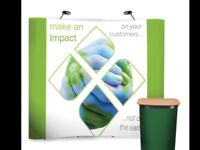 Display stand exhibition stand banner stand Rapide easy pop up business