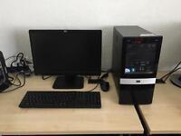 HP Pro Intel dual core 3.2 ghz 4gb ram 320gb hdd 19 inch lcd windows 10 full system refurbished
