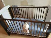 Gorgeous wooden cot