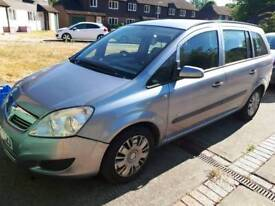 2008 VAUXHALL ZAFIRA 1.6L ** MOT MAY 2019 ** NEW CLUTCH AND JUST SERVICED