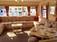 Cheap 3 bedroom caravan including site fees for sale near Aberystwyth in wales