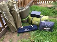 Vango 6 person tent etc - camping bundle