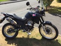 Derby terra adventure 125cc full size bike learner legal just needs L plates.
