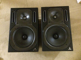 Pair Behringer B2031A Truth 2 Way Reference Studio Monitor
