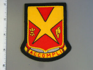 U S  Army 82nd AntiAircraft Artillery Bn hand sewn patch, brand new never issued